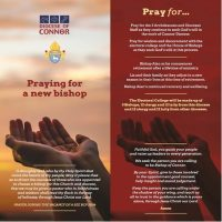 Prayer for our new Bishop