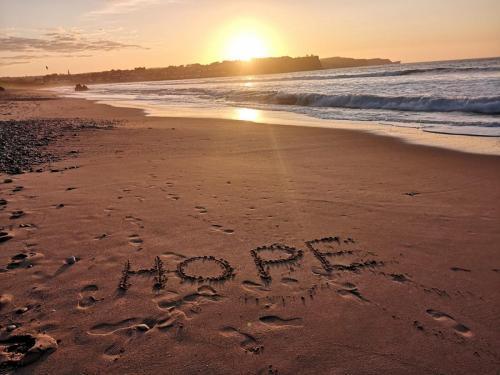 Lorraine McConaghyA message of hope Ballycastle