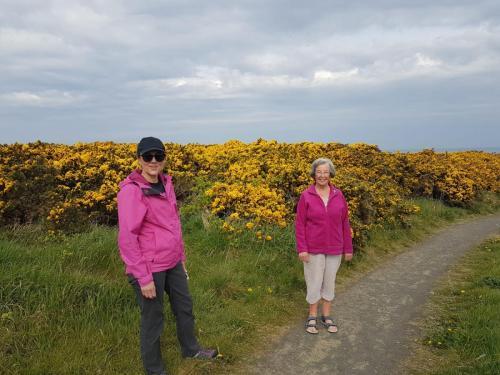 Kim and Kay on Coastal Path
